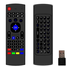 MX3 keyboard Air Mouse for Android TV Box/ Dongle & Smart TV 2.4GHz Wireless compatible Windows, Mac, Android, Linux