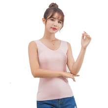 Women Tank Tops Slim fit sexy Tank Tops Modal summer 2019 Solid color V-neck and U-neck Tank Top vogue New arrive fashion brand