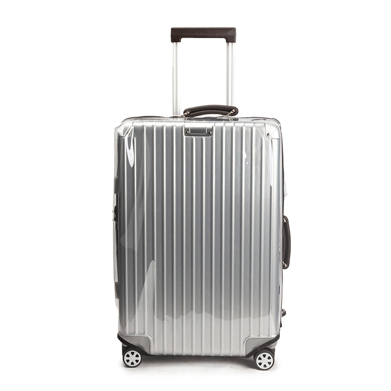 Thicken PVC Luggage Cover Transparent Suitcase Covers With Zipper Free Dismantling Clear Luggage Protector Cover 22