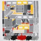 548PCS Blocks Technic Parts Liftarm Beam Cross Axle Connector Panel MOC Accessory Toys Car LegoINGlys Bulk Parts Building bricks