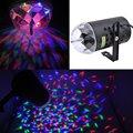 3 W voz - ativado Rotating RGB Stage LED de cristal de luz colorida para festa DJ Disco Party Xmas KTV Wedding Show clube Pub lâmpada