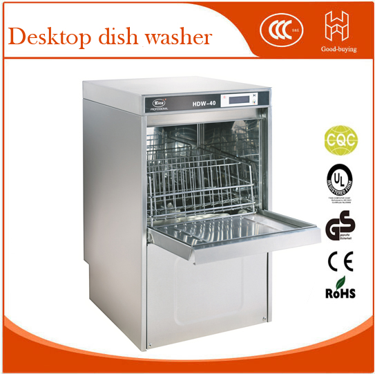 Commercial Kitchen Restaurant Hdw40 Desktop Dish Washer