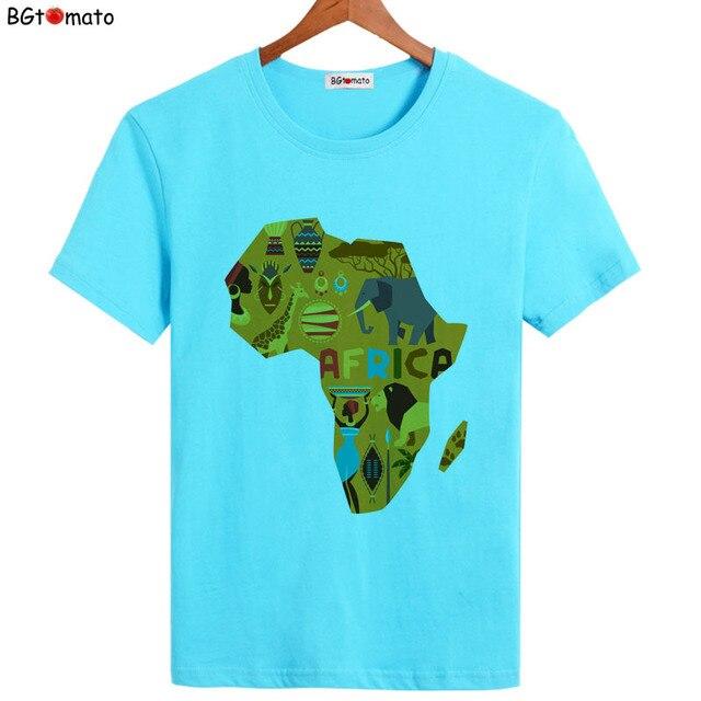 T-shirt Afrique Cartoon 1