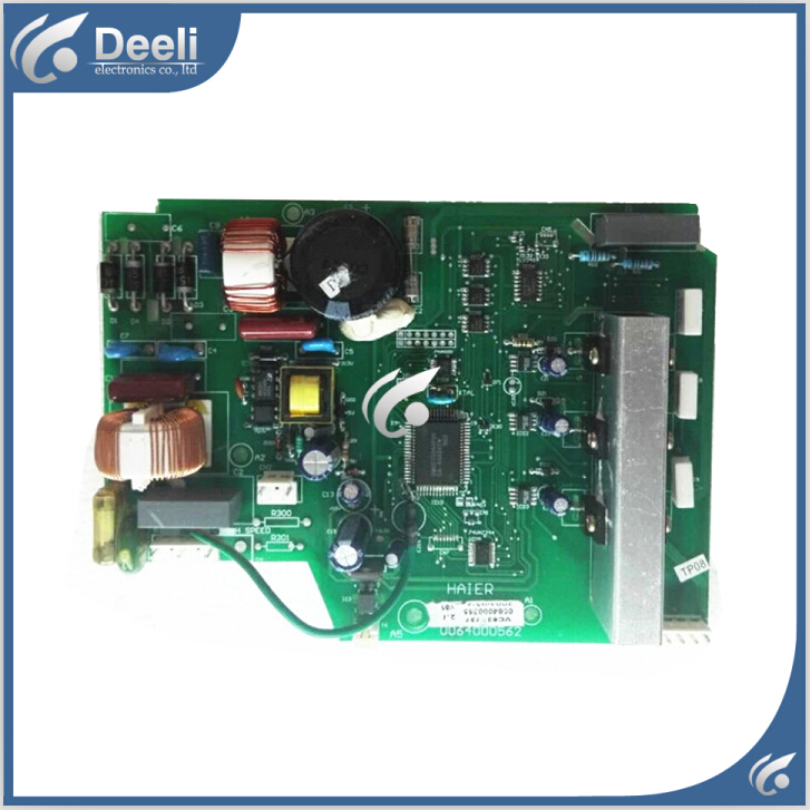 Free shipping 95% new used for haier refrigerator module board 0064000562 inverter board driver board frequency control panel free shipping intelligence module fs50r12kt3 fs50r12ke3 used disassemble