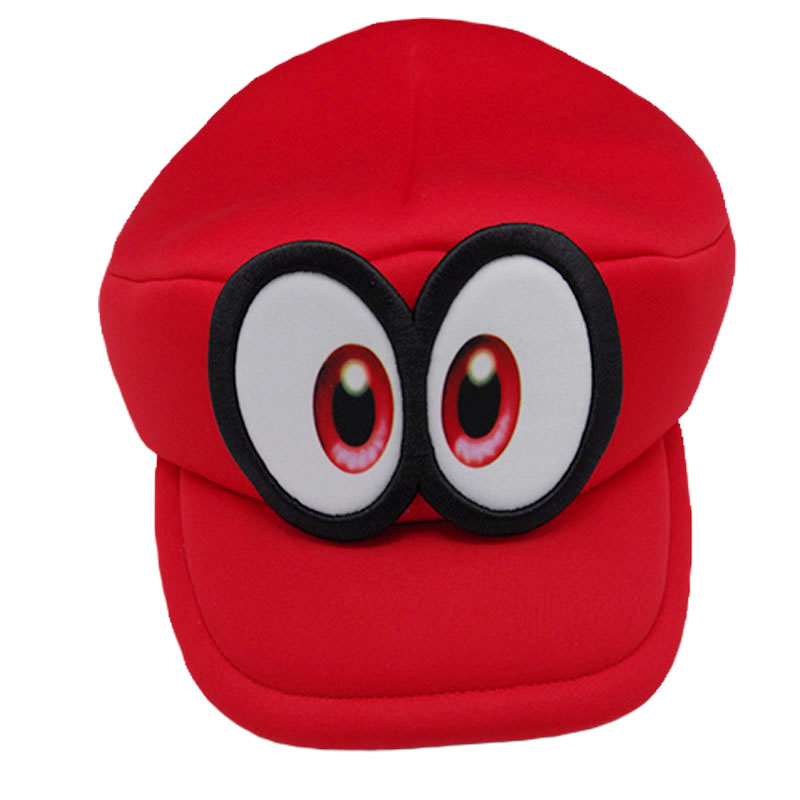 Spel Super Mario Run Cappy ögon Cosplay Hattar Superbröder Svamp - Maskeradkläder och utklädnad - Foto 3