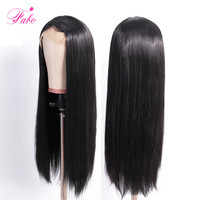FABC Hair Peruvian Lace Front Human Hair Wigs For Black Women Remy Hair Straight Wig With Baby Hair Natural Hairline Full End