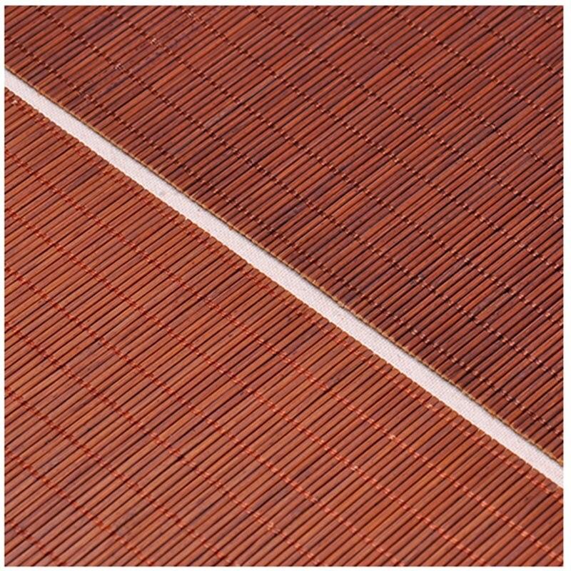 Zen Bambus Weben Tee Matten Tischlaufer Vorhange Tischabdeckung Kung
