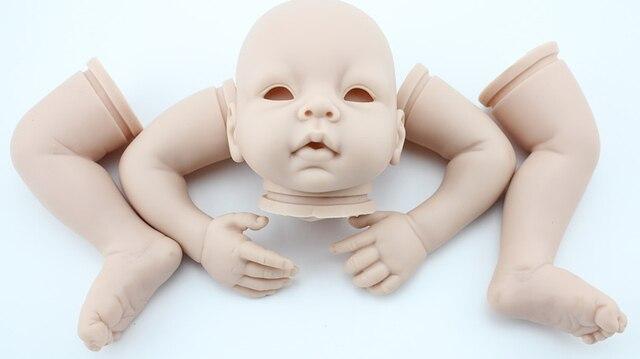 DIY Возрождается кукла плесень формы силиконовые полноценно импортированы силиконовые сырья materils возрождается малыша наборы куклы ручной работы куклы аксессуар