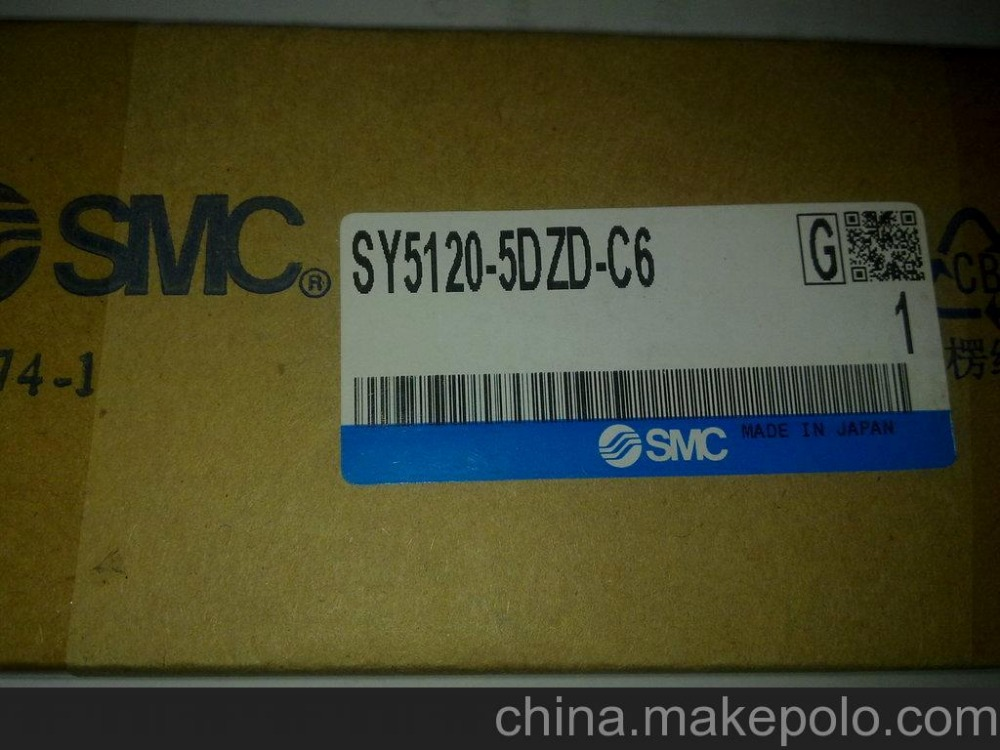 BRAND NEW JAPAN SMC GENUINE VALVE SY5120-5DZD-C6 brand new japan smc genuine coupler kk4s 06h