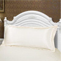 100 Two Sides Mullberry Silk Long Pillowcase Smooth Pillow Cover Soft Envelope Pillow Case For
