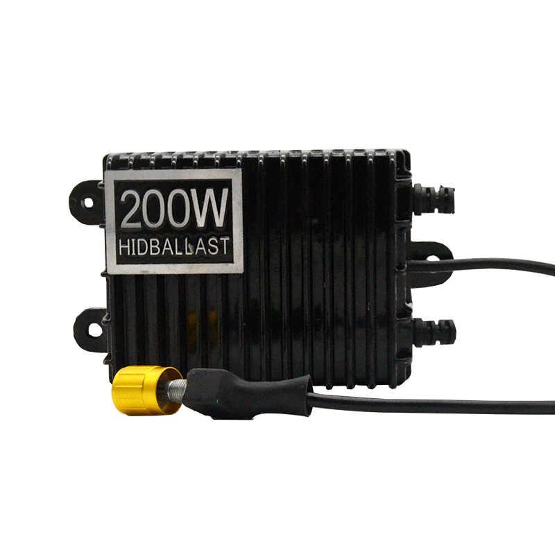 DUU 2 шт. 200 W спрятал Bi Xenon тонкий цифровой балластный резистор для замены реактор покрытый кожухом свет для H1 H3 H7 9006