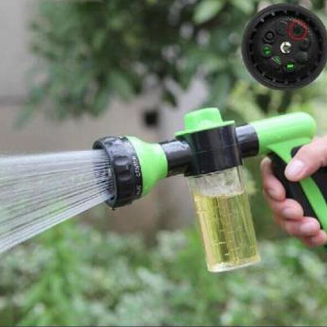 Multifunctional Foam Washing Car Sprayer Nozzle Bubble Garden Sprayer