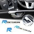 3D Design R logo Emblema Do Carro decalques etiquetas Da Janela Da Porta para Volvo XC60 V60 S40