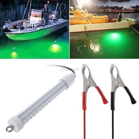 12 v subaquatica luz de pesca led