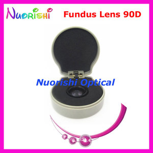 Image 3 - 90DM ほど良く volk レンズ! 眼科非球面眼底スリット ランプ連絡ガラス レンズ ハード プラスチック ケース詰め送料無料