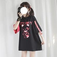 2019 Women Gloomy Bear Printed T-shirt Girls' Three Quarter