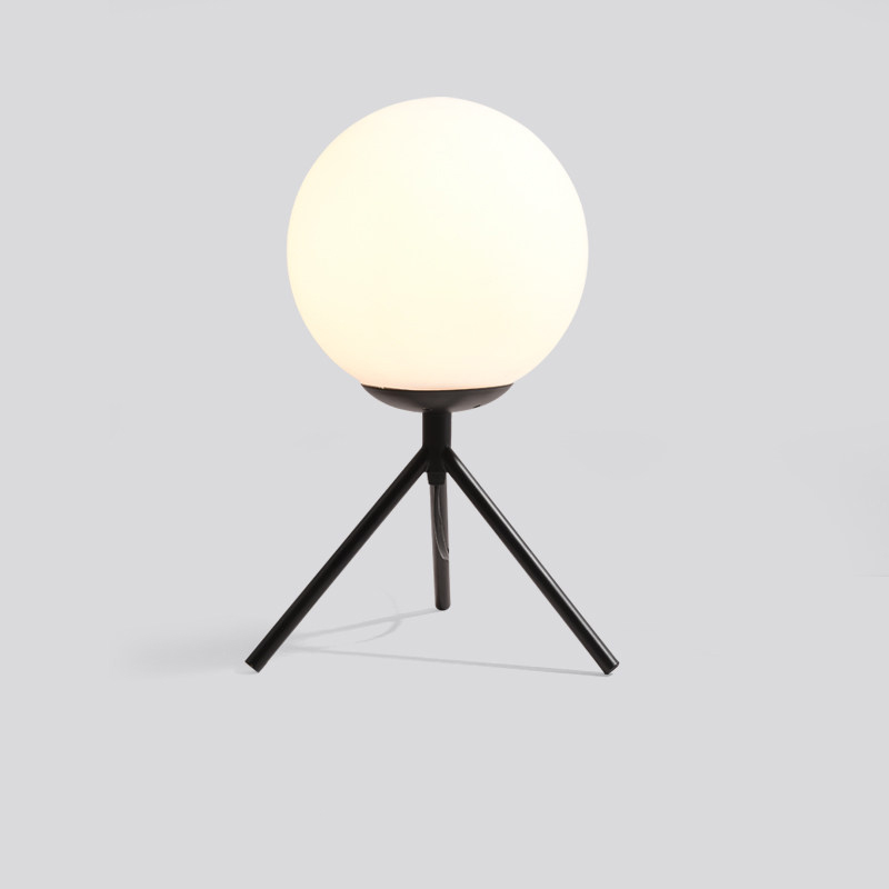 Led Lamps Lights & Lighting Creative Modern Iron Glass Minimalist Desk Lamp With Switch E27 Led Simple Desk Light For Living Room Bedside Office Study Hotel