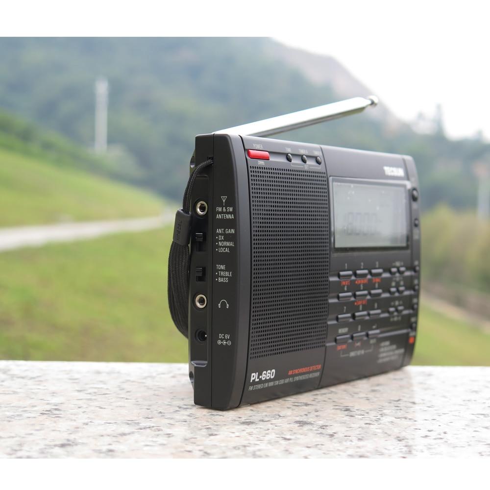 TECSUN PL-660 Radio PLL SSB VHF Zračni prijemnik FM / MW / SW / LW - Prijenosni audio i video - Foto 3
