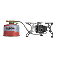 Non preheating stove wear resisting thermostability gasoline and butagas multi use cooking stove BRS 8B