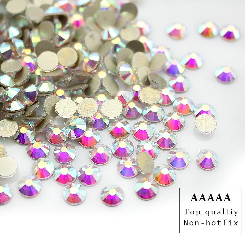 Vrhunski AAAAA Promocije! SS3-SS30 Crystal AB ravna dijamantna - Umjetnost, obrt i šivanje - Foto 5