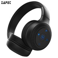 ZAPET B20 Stereo Bluetooth Headphones Deep Bass Wireless Headset Foldable Headphones With Mic Earphone For IPhone