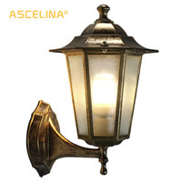 ASCELINA Outdoor LED Wall Light Vintage sconce wall lights for home Industrial wall lamps for reading home lighting E27 85 260V