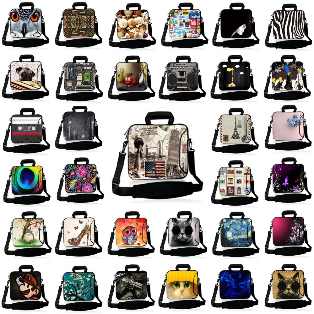10.1 11.6 13 13.3 14 15.4 15.6 17.4 17.3 Inch Waterproof Computer Laptop Notebook Tablet Shoulder Bag Bags Case for Men Women