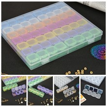 56 Grids 5D DIY Diamond Painting Drill Box Jewelry Box Rhinestone Embroidery Crystal Bead Organizer Storage Case Container(China)