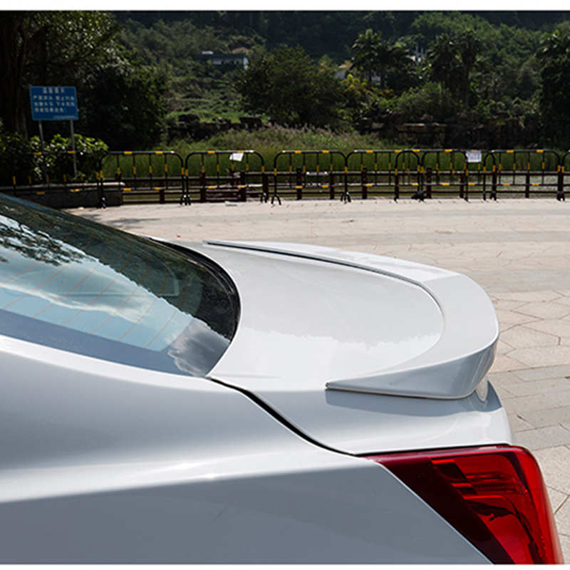 For Cadillac ATS L D3 Spoiler ABS Material Car Rear Wing unpaint Color Rear Spoiler For Cadillac ATS Spoiler 2013 2016