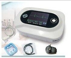 EMS Free Shipping CE Approved Visual Electronic Stethoscope EG SPO2 PR Probe CMS-VE