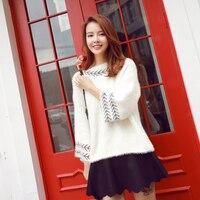 Discount Promotional Women S Sweater Trumpet Sleeve Loose Sleeve Round Neck Sweater Women S Sweater Woman