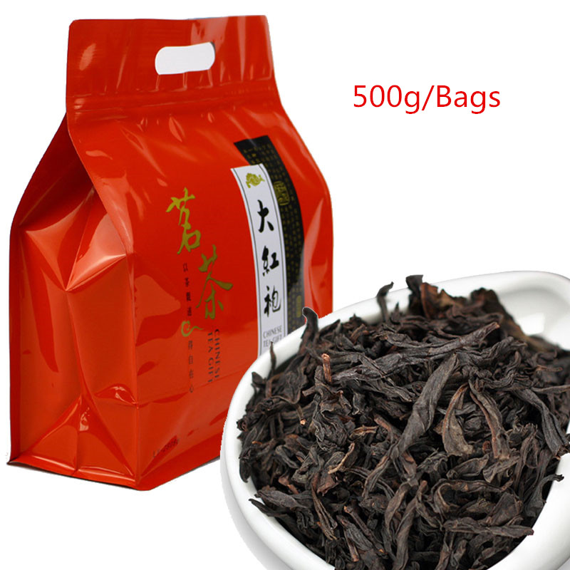 5A Chinese Da -Hong -Pao Tea Big Red Robe Oolong Tea The Original Green Food Wuyi Rougui Tea For Health Care Lose Weight