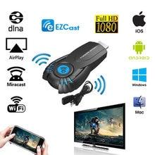 EZ ролях EZcast Смарт Tv Stick Android Мини ПК Miracast зеркало литой Ключ wi-fi Ipush лучше, чем google chromecast chrome литой
