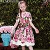 Girls Dresses for Party and Wedding 2017 Brand Summer Dress Princess Costume Rose Bianco Vestido Menina Kids Dress for Girls