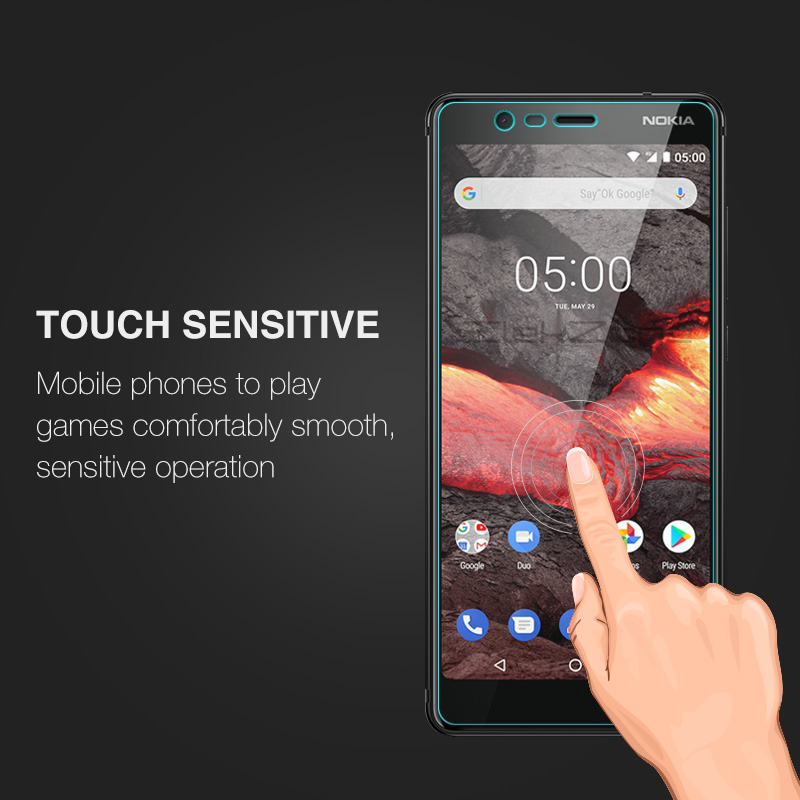 For Nokia 3 3.1 Plus Tempered Glass Screen Protective Film Glass Protector For Nokia 2.1 5 5.1 Plus 6 9H Glass Transparent Film 3