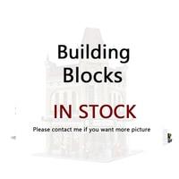 LEPINING 15006 2354pcs City Street View Palace Cinema Model Building Blocks Set Bricks Compatible 10232 Toys For Children