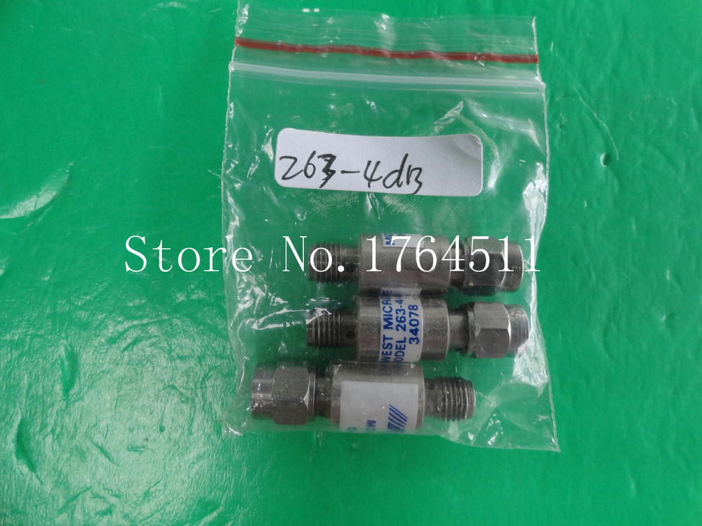 [BELLA] MIDWEST 263-4dB DC-18GHz 4dB 2W SMA Coaxial Fixed Attenuator  --2PCS/LOT