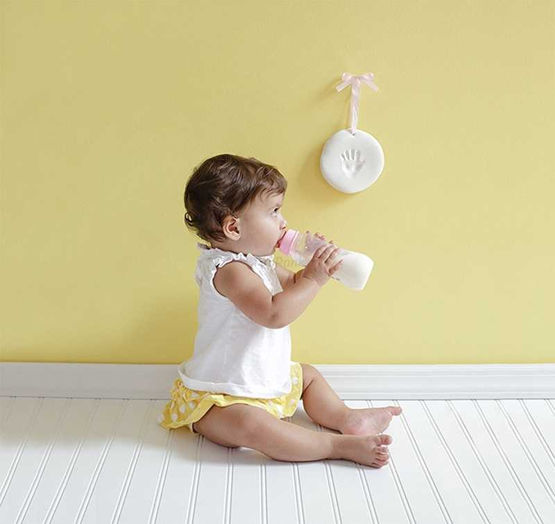 Taoqueen Baby Care сушка мягкая глина Детские Handprint след отпечаток комплект литья родитель-ребенок рука Чернила Pad отпечатков пальцев подарок