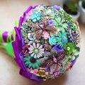 Творчество, антиквариат, свадебные брошь букет, фиолетовый ювелирные изделия букет, бабочка стрекоза букет, винтаж