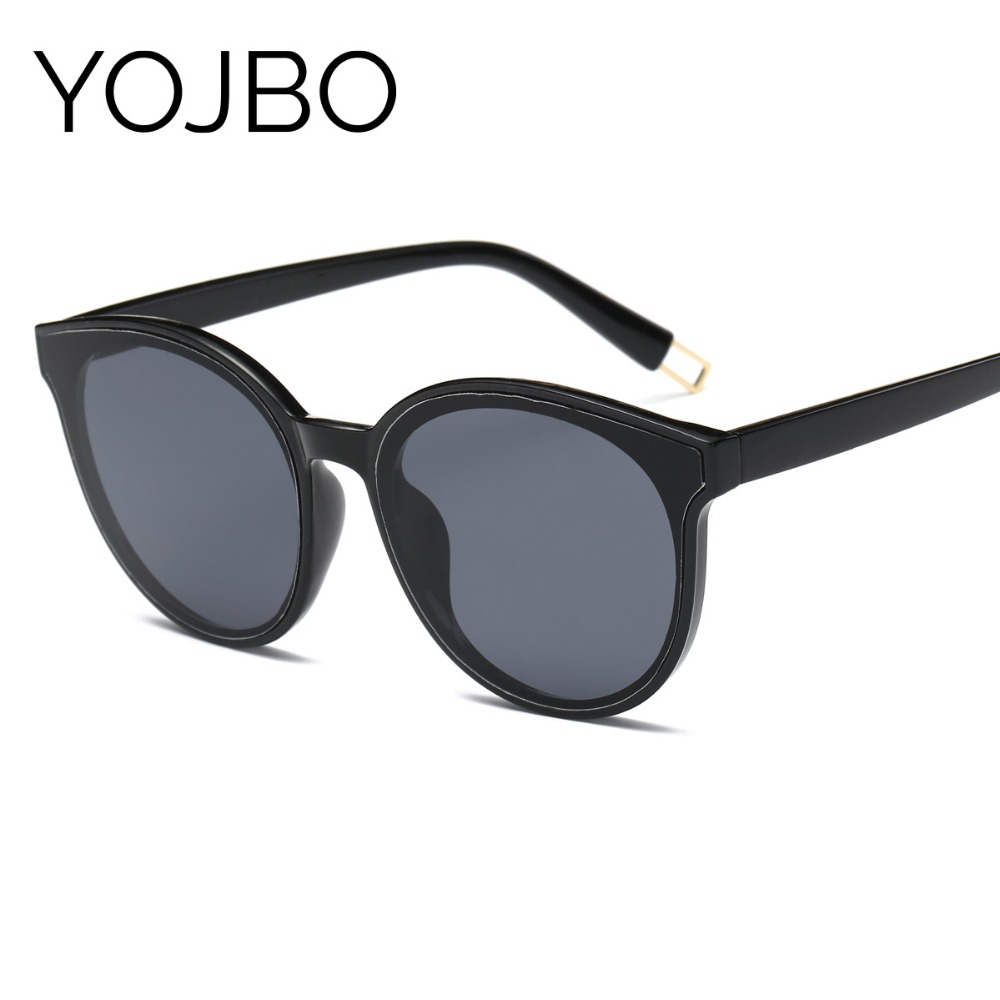 YOJBO Luxury Round Women Sunglasses 2018 Fashion Retro Mirror Sun Glasses UV400 Vintage Brand Designer Glasses Acessories