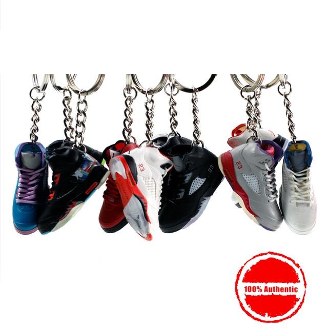 huge selection of d1b78 d4e3c 3D Air Jordan Sneaker Keychains Mobile Phone Strap Lanyard for iPhone keys  Bag AJ Basketball Shoes Model Popular Gift Shoe Mold