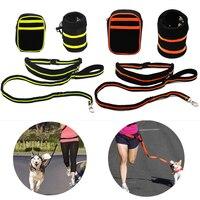 Cheap Waist Pet Dog S Leash Running Jogging Puppy Dog Lead Collar Sport Walking Leash Fitness