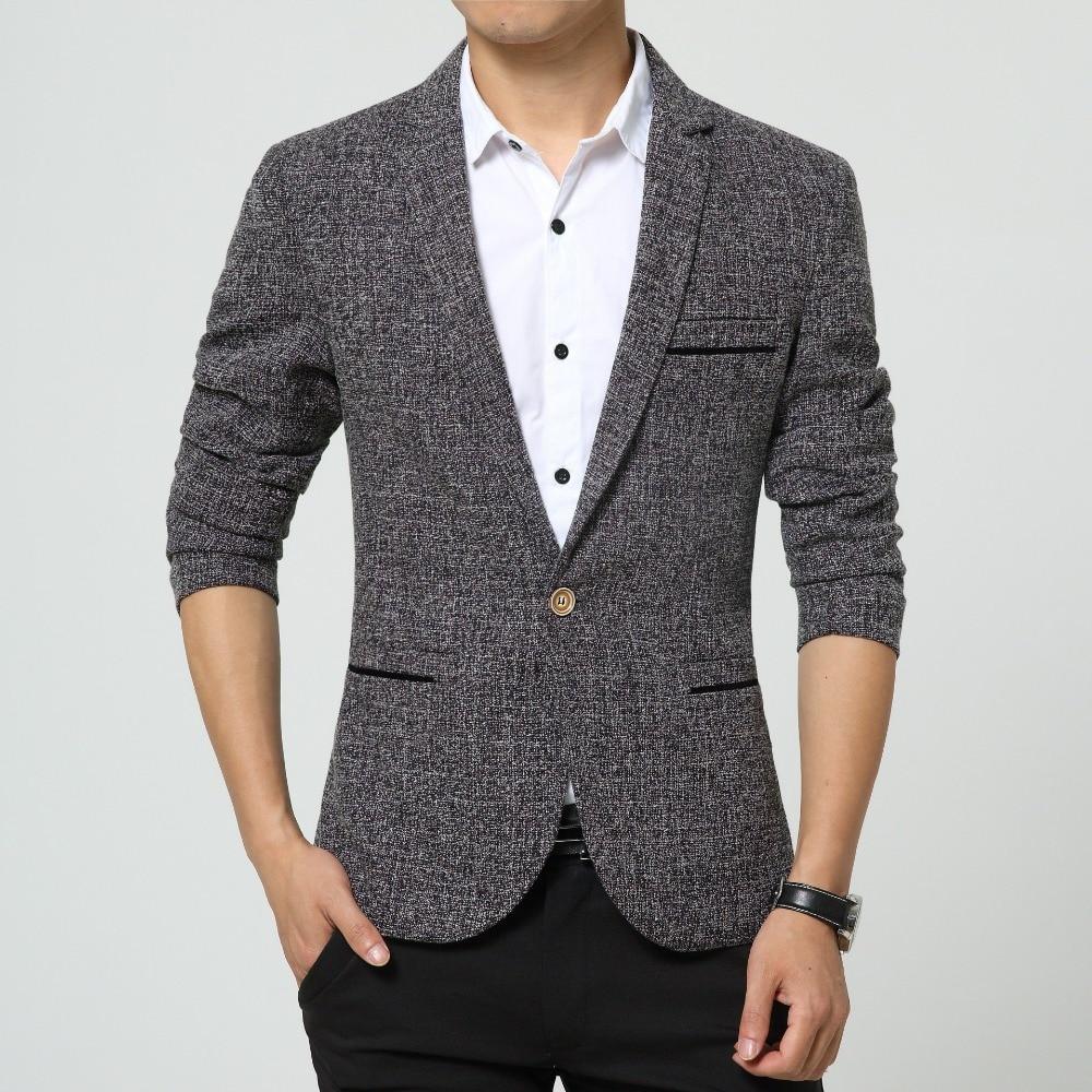 Online Get Cheap Linen Blazers Mens -Aliexpress.com | Alibaba Group