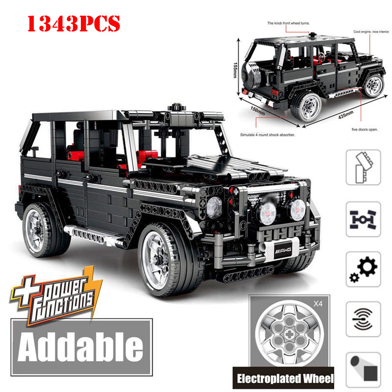 1343+pcs Technic Speed Champions Sports SUV Racing Car Building Blocks Toys Compatible Legoed City Creator Bricks Kids Toys