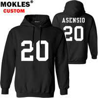 ASENSIO Pullover Free Custom Name Number Logo Autumn Winter Jersey Keep Warm Marco Spain Diy Pure