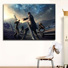 Home Decor Living Room Wall Poster Framework Picture 1 Panel Game Final Fantasy XV Episode Gladiolus Canvas HD Print Painting