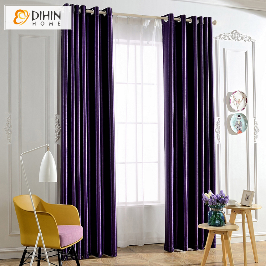 8 colors full blackout curtains for the bedroom printed. Black Bedroom Furniture Sets. Home Design Ideas