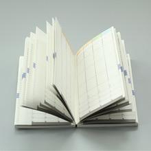 MaoTu 毎週計画プランナー弾丸ジャーナルノートブック日付のない日記毎月デイリープランナーカラー印刷物 A5 A6