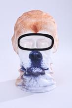 Прекрасные Милые Новый 3d Собака Животных Велосипед Велоспорт Рыбная Ловля Hat открытый Спорт Кап Лыж Балаклава Уф Мотоцикл Полная Маска Bbb15