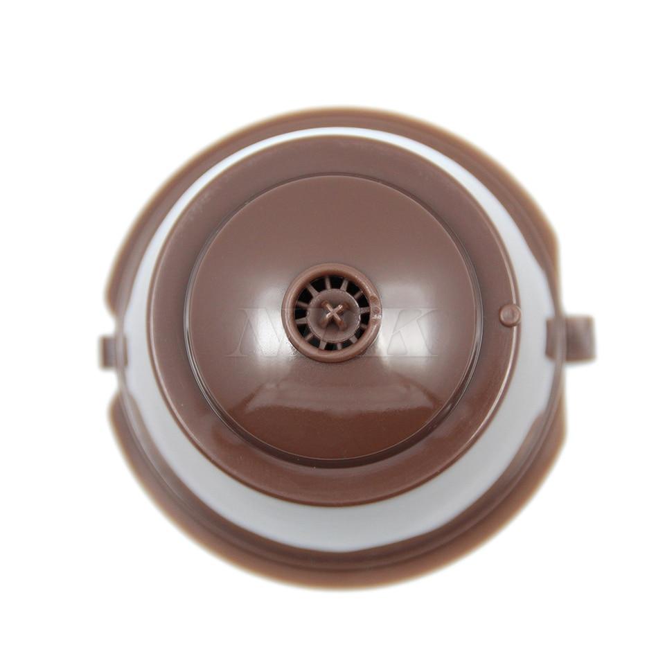 2/pcs rechargeables capsules de caf/é Tasses /à caf/é filtre paniers Plastique Cuill/ère pour Dolce Gusto r/éutilisable Brewers recharge Tasse filtre